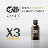 CAMUI X3 nano tio2 glass coating hydro treatment crystality coating