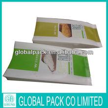 Nylon material plastic packaging bag for rice/plastic rice bag