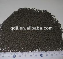 Black seaweed preparation of organic base fertilizer