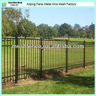 Metal tube powder coating Patio Wrought Iron Fence