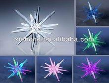 fashionable battery operated led star shaped lighting decorationXHLC01