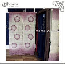 Japanese style cloth printed door curtain