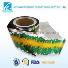 Custom design plastic metallized twist film candy wrapper