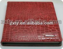 High quality dummy crocodile leather case for ipad mini