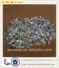 wholesale cheap natural fluorite tumbled stone