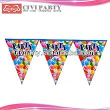 paper Custom High Quality Decorative Colour Party Flag pakistan flag