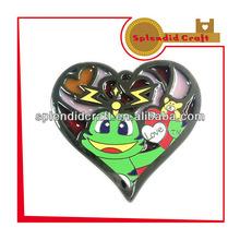 New Design fashion Heart Shape badge