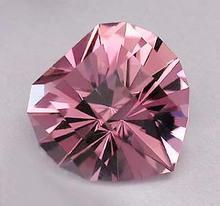 Heart Shape Quartz crystals - Color Change Gems