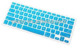 "Cooskin New Design Silicone Keyboard Cover Skin for Macbook 13"" Unibody / Macbook Pro 13"" 15"" 17"" (BLUE)"