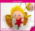diy anjo de natal jingle bell artesanato para crianças