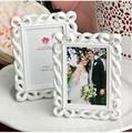 2014 nuevos productos! Caballero blanco foto/lugar marco de la tarjeta de regalo de boda, de la boda marco de fotos