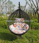 PE Rattan Swing Chair,hanging rattan egg chair(PH-04)