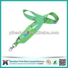 customize polyester printing mobile phone holder lanyard