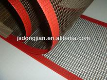 non stick smooth surface PTFE teflon mesh conveyor belt