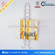 4 tier Wall Mounted Brochure Holder
