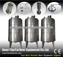 Steam jacket brew kettle,used medium brewery beverage plant