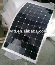 18W~180W No.1 Sunpower Cells Flexible Solar Panel China make for world market