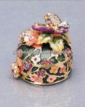 aniaml jewelry box butterfly