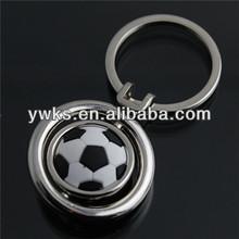 free design custom football metal keychain for promotion