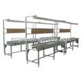 Automática de la línea de montaje de aluminio gsd-cj350 automática plug- en la línea de producción