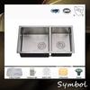 American Kitchen Sink Satin Sink Undermount Double Bowl Sink