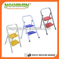 TUV,EN14183/EN131 Steel step ladder ,Stainess steel folding ladder Step stool SF0602A