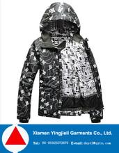 2012 new style ski heavy winter jackets