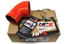 BMW 01-06 E46 M3 Coupe & Convertible Silicone Intake Hose Kit Red