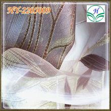 100% Polyester jacquard Curtain / Sheer Decorative Textiles