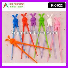 Animal Design Silicone Rubber Chopsticks for Children