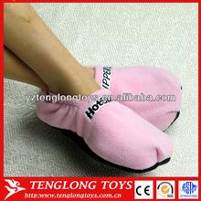 Soft and popular fleece microwave heated hot slipper
