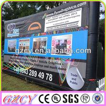 bus stop advertising billboard inflatables