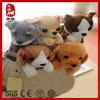 2014 child toy animal dog plush animal pen case bag for child