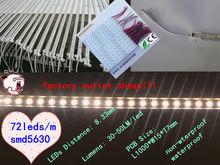 SMD5630 ip20 cold white 72leds led light bar disco