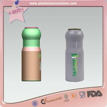 Aluminum aerosol can for lady