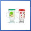Nescafe taza/taza de promoción/de vidrio taza de café