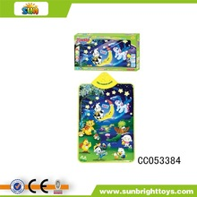 wall chart for children education with music( Moonlight Band )