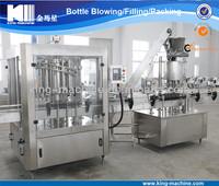 Full Automatic PET Bottle Peanut Butter Filling Plant / Mechanism / Installation KING MACHINE