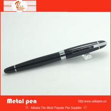 Hot sale promotion black metal pen FREE SHIPPING by DHL print customize logo
