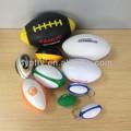 Logotipo personalizado impreso promocional de la PU de espuma pelotas de rugby