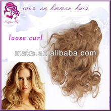 2014 The Best Selling Product Wholesale Loose Curl Hair Cheap Brazilian Virgin Hair Extension