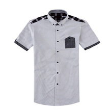 2014 new style combed cotton latest custom men branded formal shirts