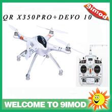 2014 new product!Walkera QRX350 PRO GPS Quadcopter with DEVO 10 White Radio Control& G-2D Camera Gimbal quadcopter ufo rtf