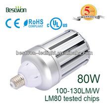 High quality 80W leds garden light E40 base