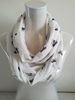 Fashion Printed Horse neckwear 100%viscose scarf