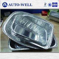 Disposable household aluminum foil container/aluminum foil container cover