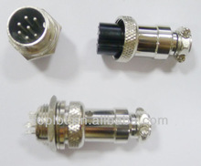 Aviation Plug 7-Pin 16mm GX16-7 Male and Female Panel Metal Connector AK