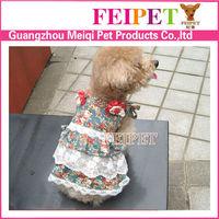 Stylish Pet Dog Puppy casual Spring &summer dog skirt,dog clothes