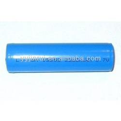 Environmental 3.6v li-ion rechargeable battery