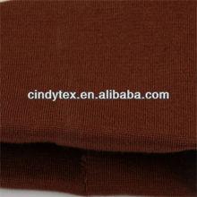 14g brownish acrylic lycra 1*1 wool rib knitted fabric